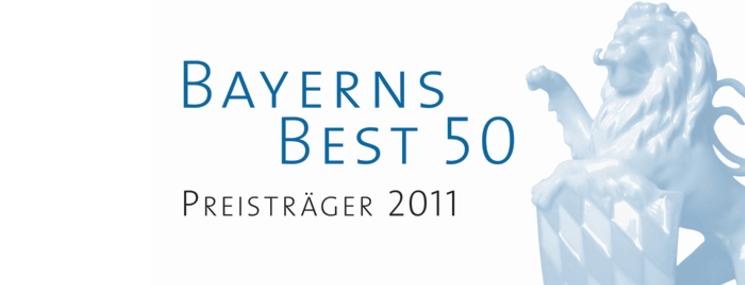 Bayerns Best 50 2011 für besonders wachstumsstarke Unternehmen