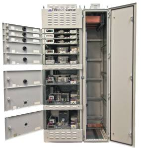 Trimot mcc motor control center in withdrawable technology for Low voltage motor control center