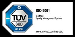 ISO 9001 Prüfzeichen